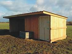 Run-In shed 4