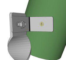 D403 bracket on Timber swing set