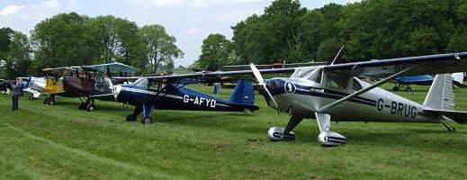 Luscombes at flyin