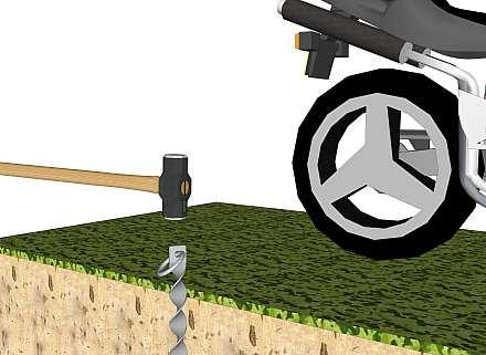 Sherman bike anchor