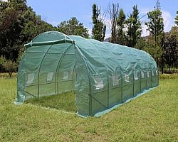 Long tunnel greenhouse